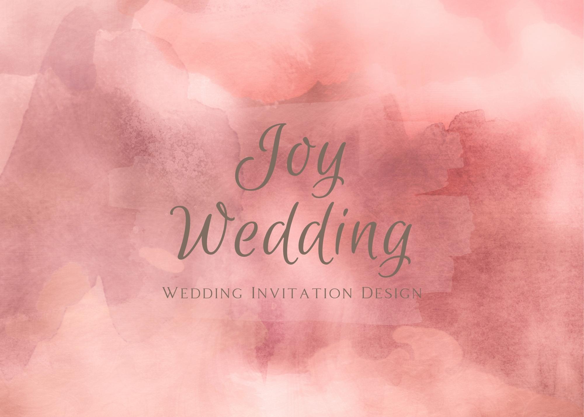 דוגמא של רקע הזמנה לחתונה